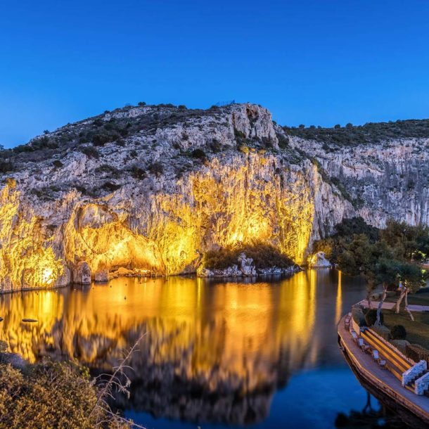 lake vouliagmeni glyfada greece - Emmantina Hotel